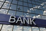 29874021 - bank sign on a building